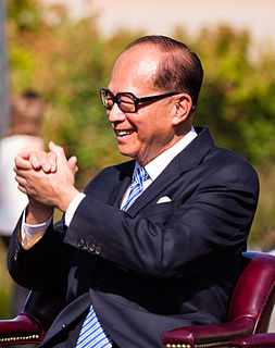 Li Ka-shing Hong Kong entrepreneur