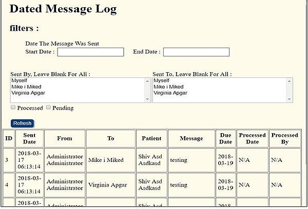 LibreHealthEHR Dated messageLogs.jpg