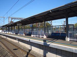 Lidcombe - Lidcombe Railway Station Olympic Park platform
