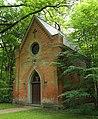 Lieberose Schlosspark Kapellenberg Kapelle von der Schulenburg 01.JPG