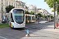 Ligne A Tramway boulevard Foch rue Alsace Angers 7.jpg