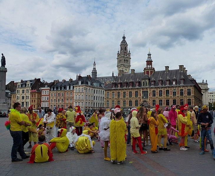 La Grand-Place en 2012 Lille  Nord.- France