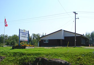 Limerick, Ontario - Community centre