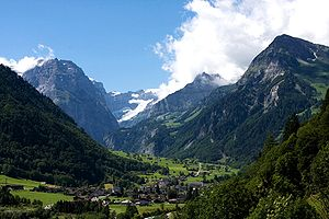 Canton of Glarus - Linthal and Glarus Alps