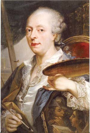 Pierre-Joseph Lion - Self-portrait, 1779