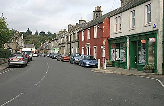 West Linton - Image: Liontan Ruairidh 990607