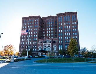 Union Stockyards (Omaha) - Livestock Exchange Building