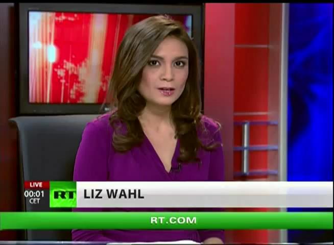 Liz Wahl on RT America