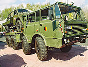 Tatra T813 8x8 KOLOS východoněmecké armády