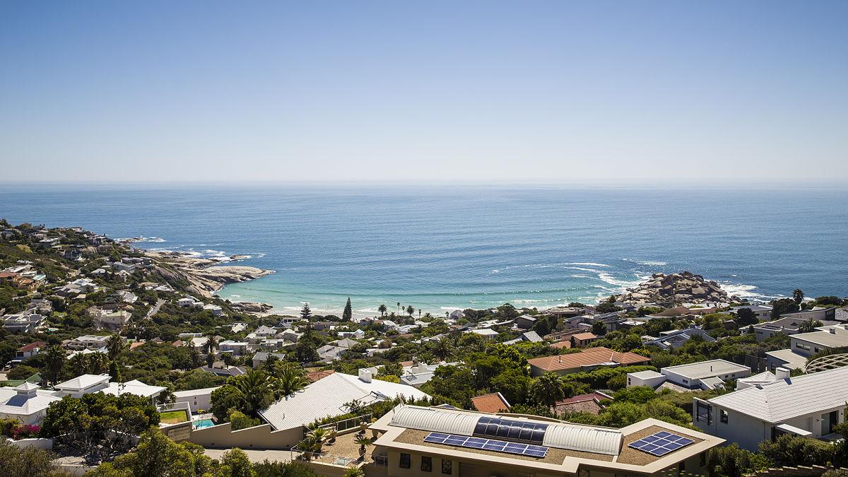 Cape Town City Bowl Map