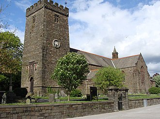Llanelli - St Elli's Parish Church, Church in Wales.