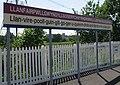Llanfairpwllgwyngyllgogerychwyrndrobwllllantysiliogogogoch station sign (cropped version 1).jpg