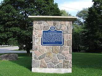 Jesse Lloyd - Historical marker in Lloydtown.