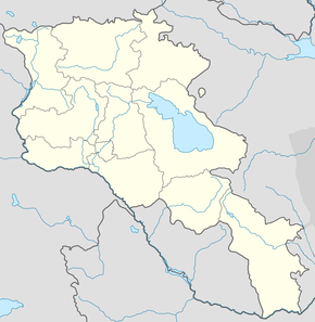 Sîpan is located in Ermenistan