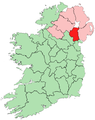 Location of County Armagh on island of Ireland.png