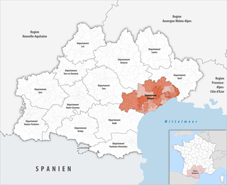 Location of the Hérault