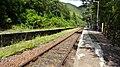 Lochailort railway station, Highland Council, Scotland. View of platform towards Glenfinnan.jpg