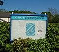 Logos Community Church (The Welcome Centre), Copse Lane, Rowner, Gosport (April 2019) (Signboard).JPG