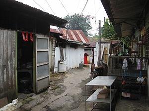New village - Loke Yew New Village in Kuala Lumpur.