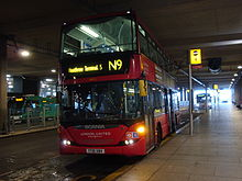 London United SP172 on Route N9, Heathrow Terminal 5 (15100986483).jpg
