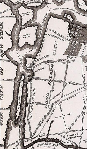 Long Island City map 1896