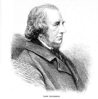 Richard Monckton Milnes, 1st Baron Houghton - Image: Lord Houghton