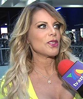 Lorena Herrera Mexican singer,actress and model