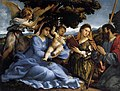Lorenzo Lotto - Madonna and Child with Saints and an Angel - WGA13703.jpg