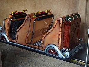 Lost Kingdom Adventure - Vehicle at Legoland Malaysia