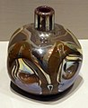 Louis comfort tiffany per tiffany glass & decorating co., vaso, vetro, 1893-96, 02.jpg