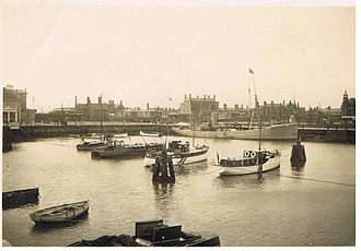 Lowestoft - Lowestoft's Yacht Basin in 1929.