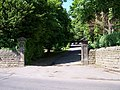 Loxley Manor House Gates, Loxley Road, Loxley - geograph.org.uk - 1022603.jpg