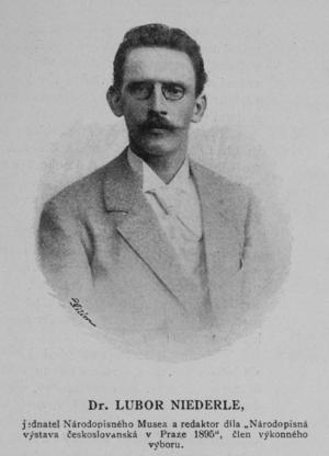 Lubor Niederle - Lubor Niederle (1895)