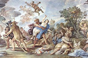 Sporus - The Rape of Proserpina, by Luca Giordano