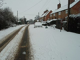 Luddington-in-the-Brook village in Luddington parish, East Northamptonshire, Northamptonshire, England