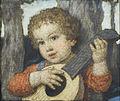 Ludwig von Zumbusch Laute spielendes Kind.jpg