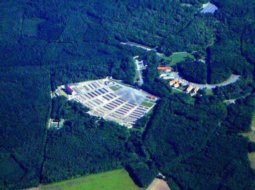 Luftbild KZ Buchenwald