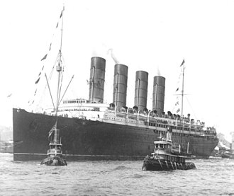 Sinking of the RMS Lusitania - Lusitania in 1907