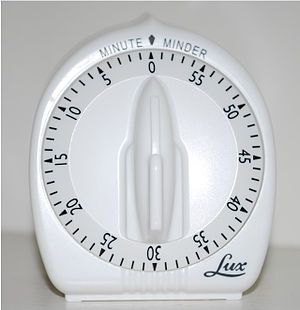 Timer - A typical mechanical timer
