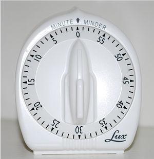 Timer - A typical mechanical timer