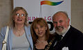Lydia Foy, Emer Costello and David Norris 2010.jpg