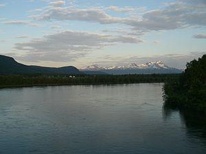 Målselv - Image: Målselva river(2)