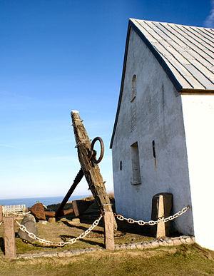 Mårup Church - Image: Mårup Kirke anker 2