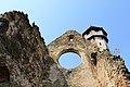 Mănăstirea Cârța - vedere dispre biserică.JPG