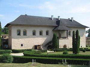 Cetățuia Monastery - The prince's palace