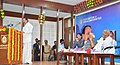 M. Venkaiah Naidu addressing at the South Zone Vice-Chancellors' Meet at the Vignan University, at Vadlamudi, in Guntur, Andhra Pradesh (1).jpg