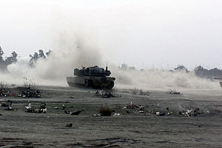 first military confrontation in the Iraq War