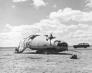 Northrop M2-F2 - The crash site of the M2-F2