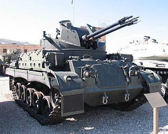 M42 Duster - M42 in Yad La-Shiryon, Latrun, Israel