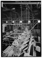 MACHINERY IN SMELTER BUILDING - The Carissa Mine, South Pass City vicinity, South Pass City, Fremont County, WY HABS WYO,7-SOPAC,3-27.tif